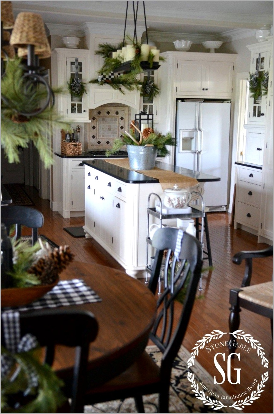 Country Style Kitchen Decore