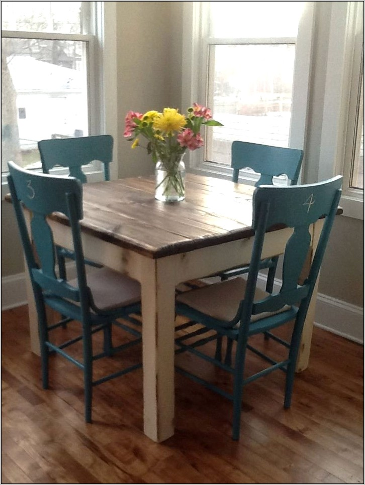 Country Table Decor For Small Kitchen Tables
