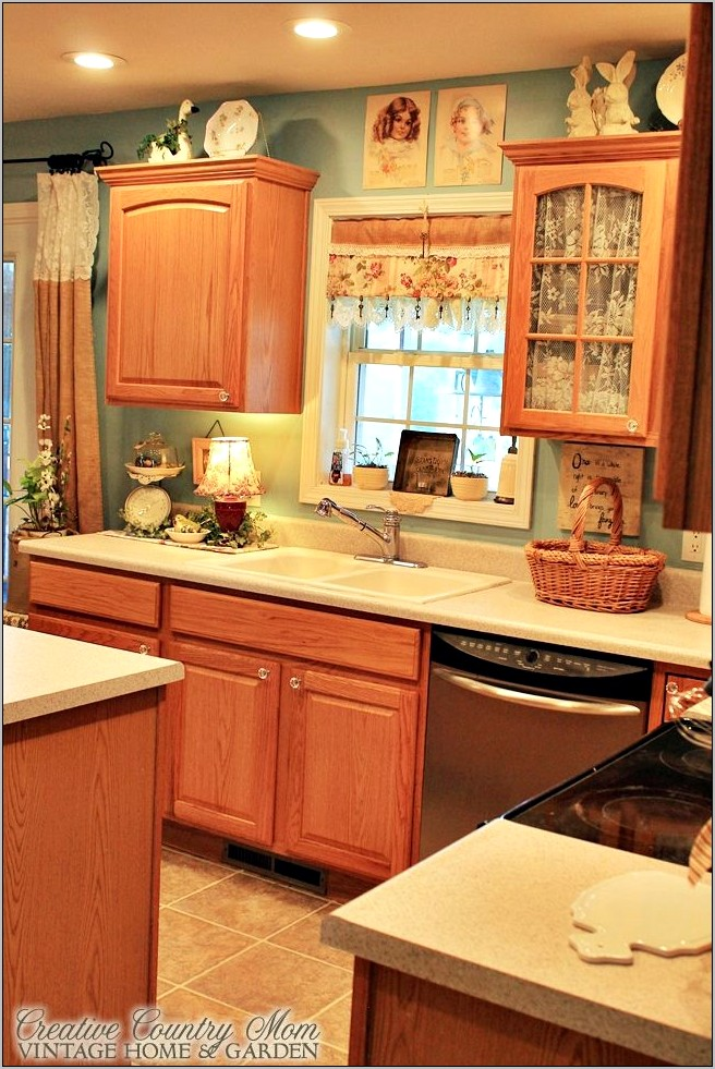 Country Vintage Style Decor Kitchen