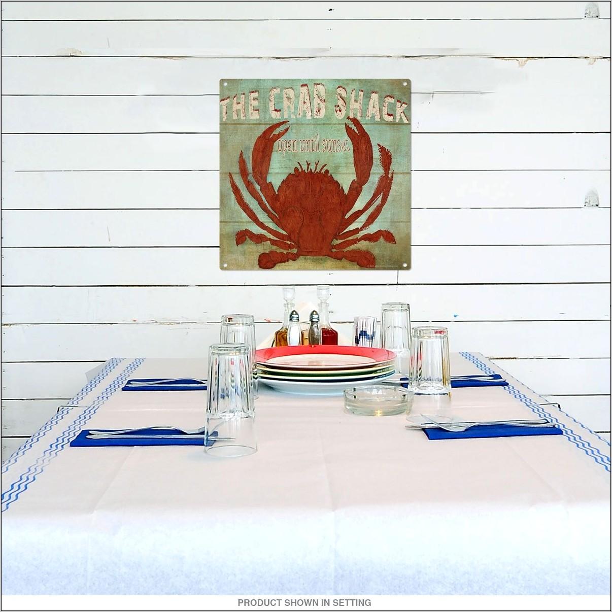 Crab Shack Kitchen Decor