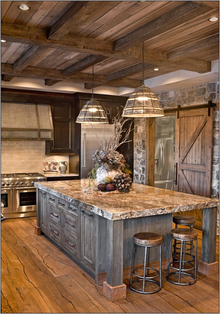 Custom Decorative Metal Kitchen Islands