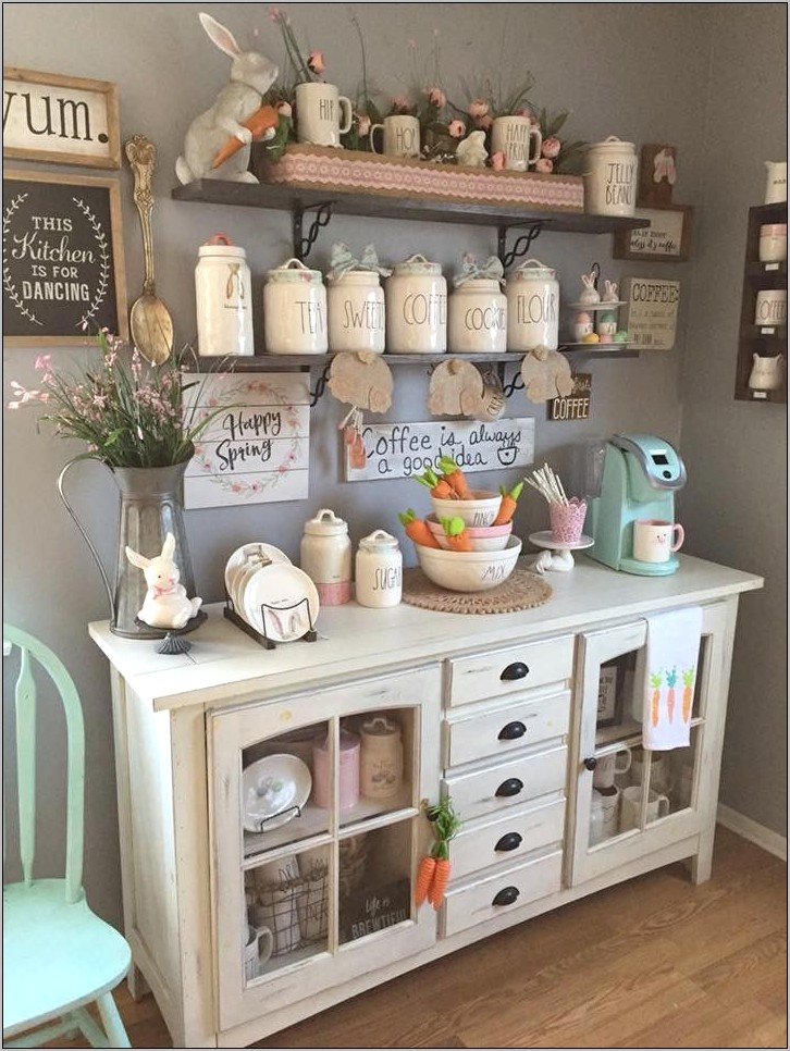 Cute Kitchen Bar Decor Ideas