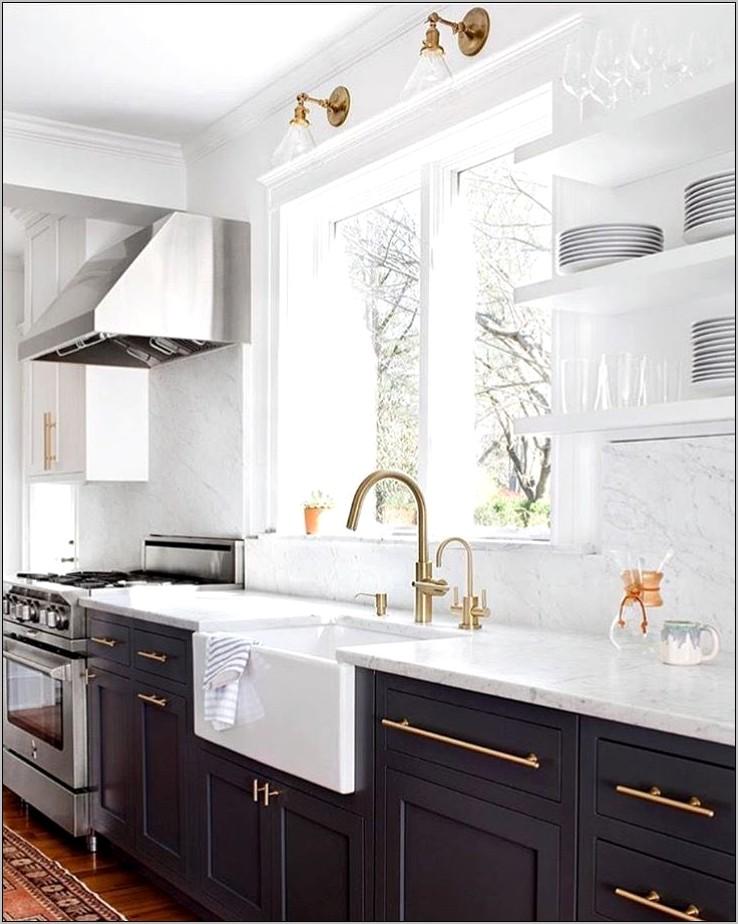 Dark Blue Gray Kitchen Decor
