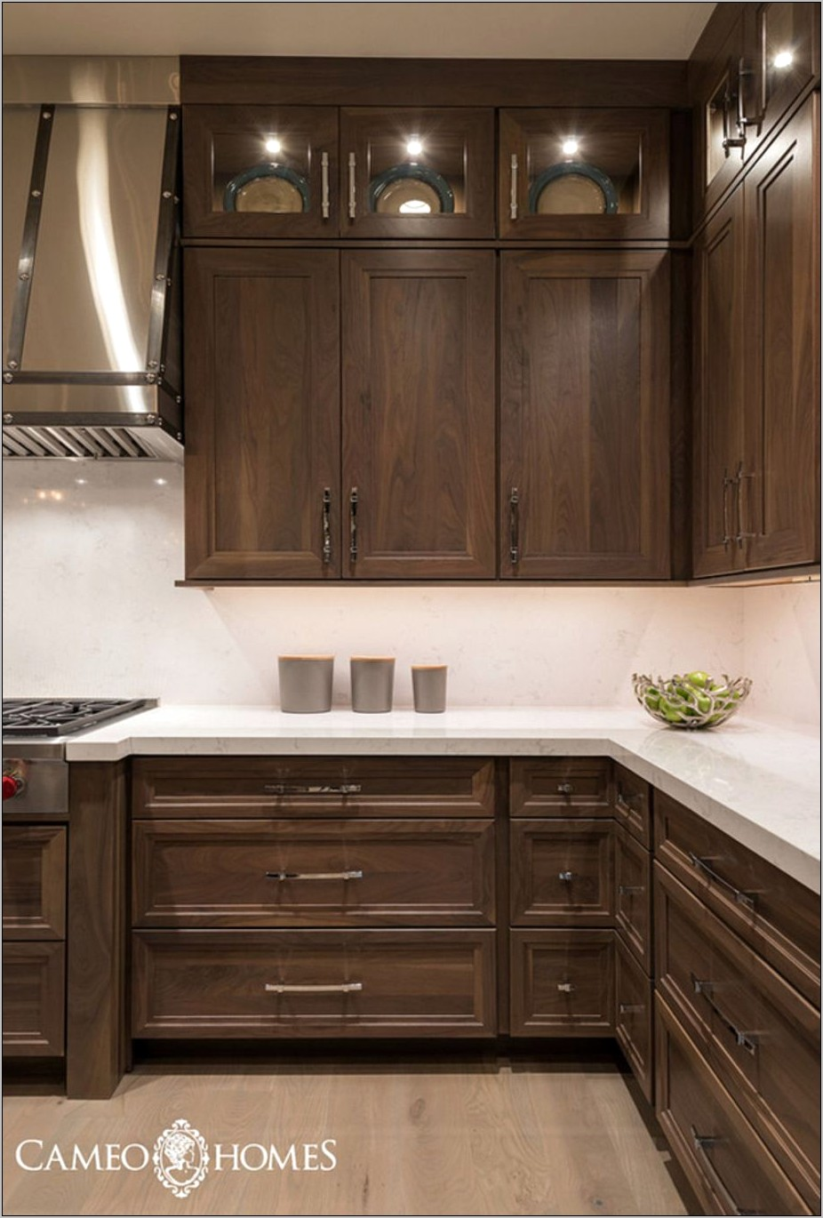 Dark Brown Kitchen Cabinets Decor