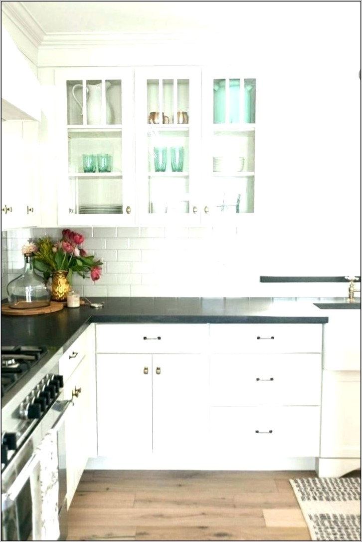 Decor For Glass Kitchen Cabinets