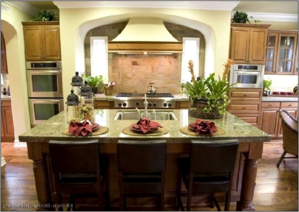Decor Ideas For Kitchen Bar