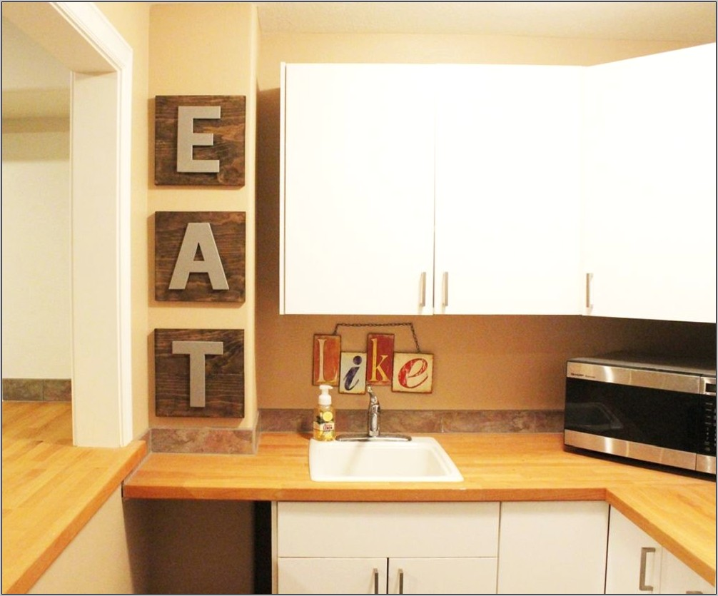 Decor Letters For Kitchen