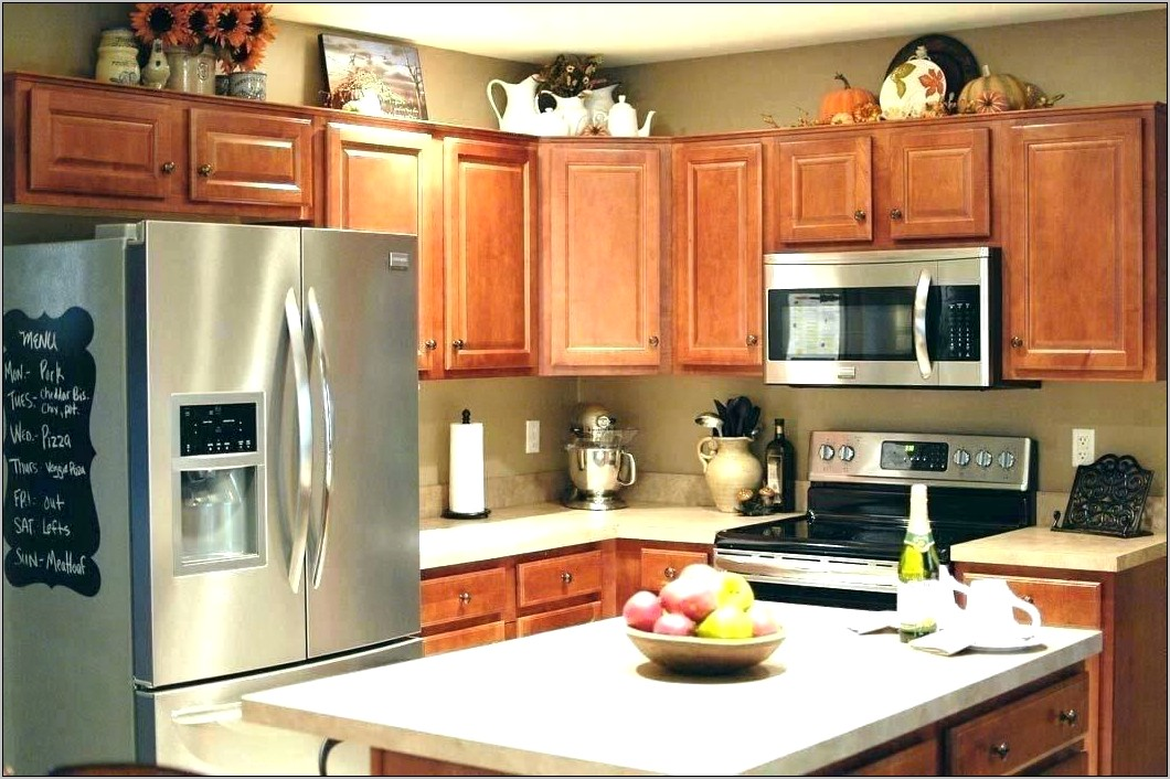 Decor Storage Above Kitchen Cabinets