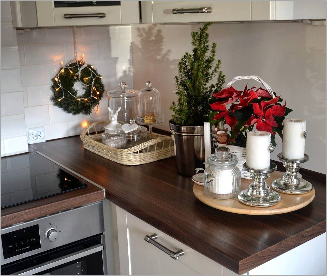 Decorate A Kitchen Passthru For Xmas