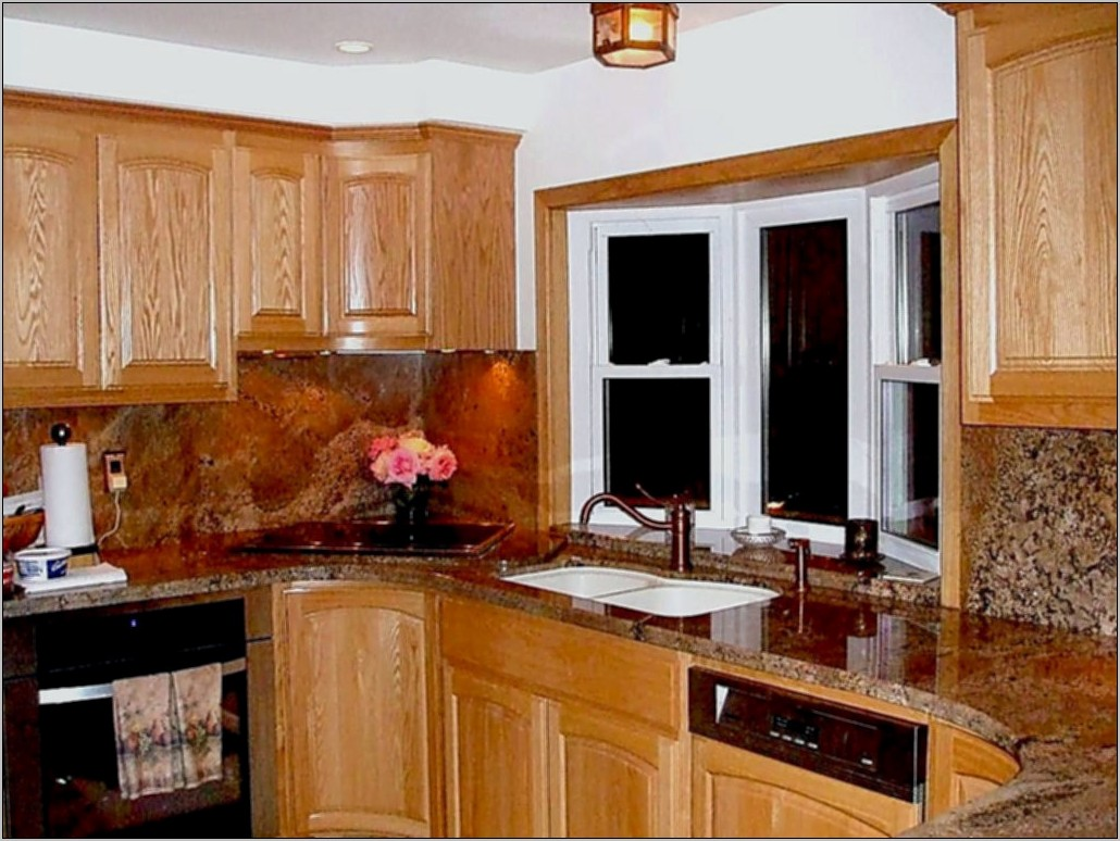 Decorate Bay Window Kitchen