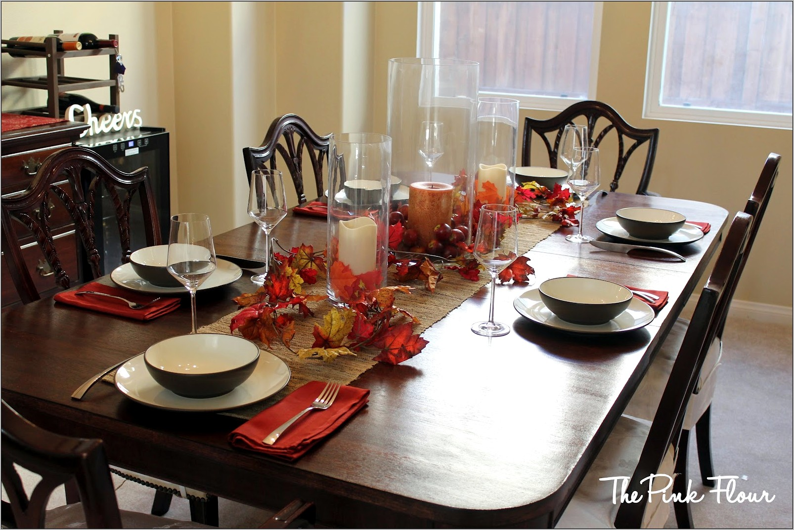 Decorate Center Of Kitchen Table