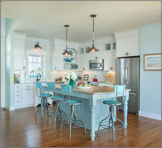 Decorate Kitchen Beach Inexpensive