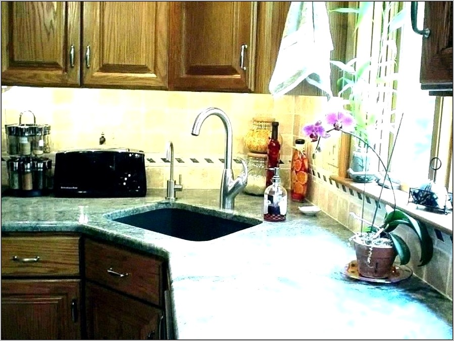 Decorate Kitchen Counter For Buffet