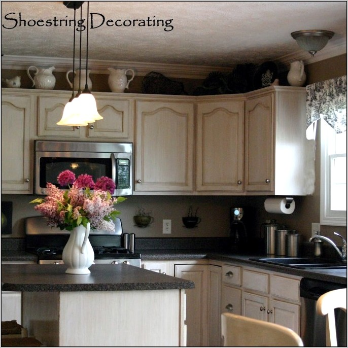 Decorate Kitchen Cupboards For Christmas