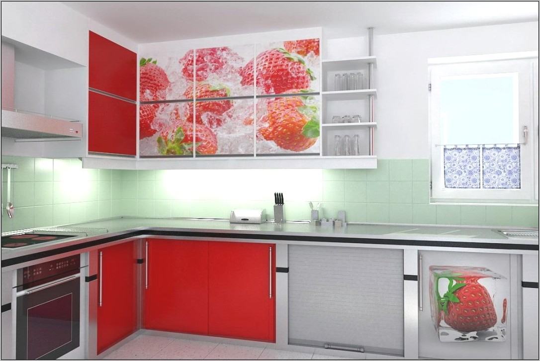Decorate Kitchen Strawberry Theme