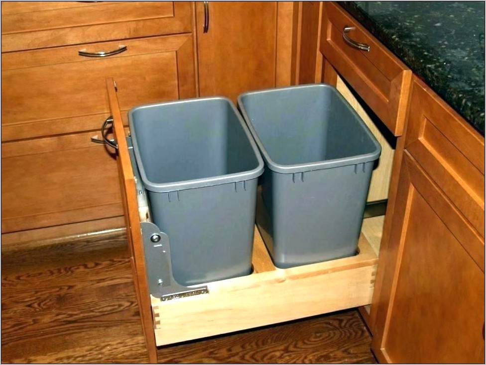 Decorate Kitchen Trash Can