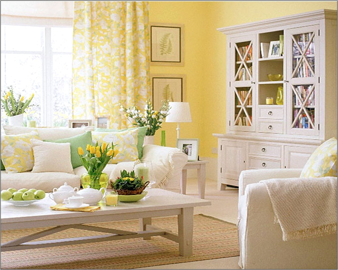 Decorate Kitchen Yellow Walls