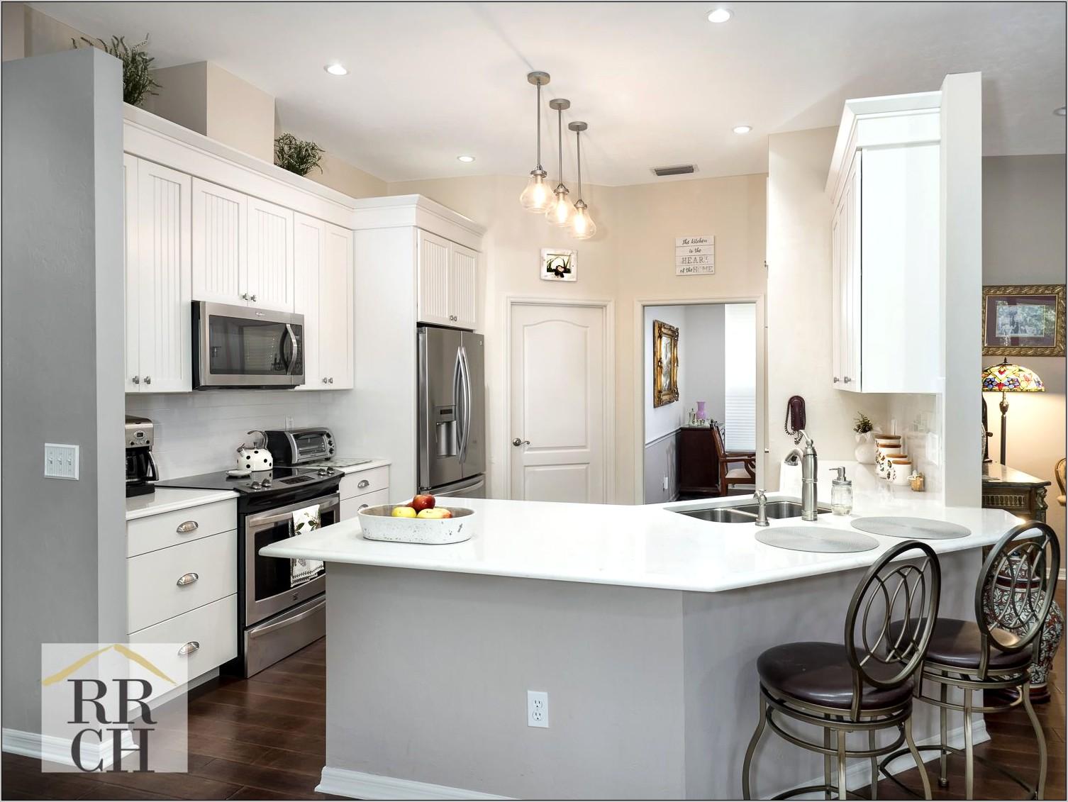 Decorate Open Kitchen Peninsula
