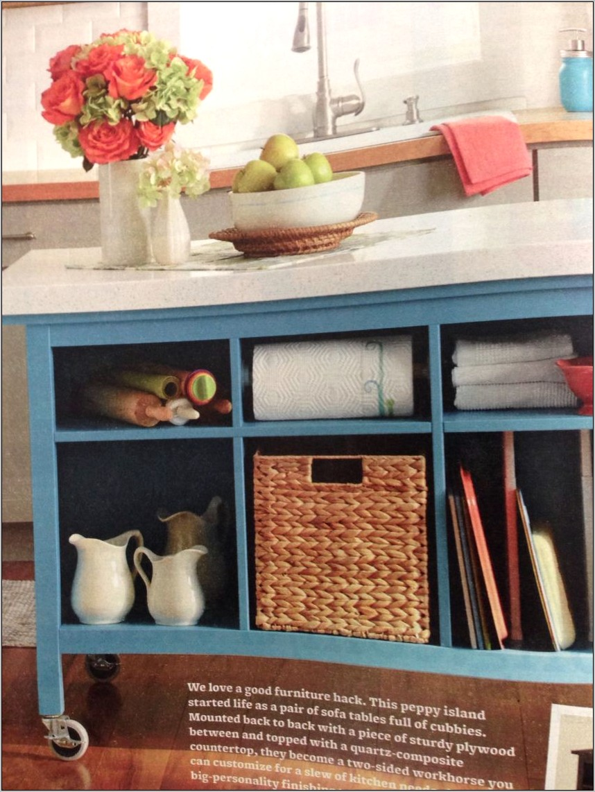 Decorate Sofa Table In Kitchen
