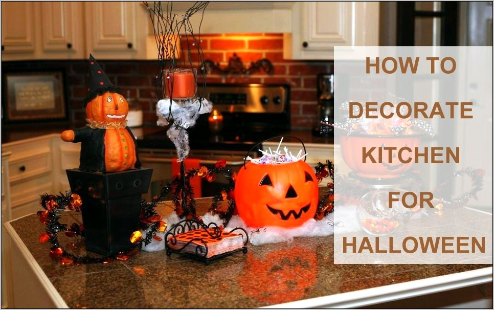 Decorate The Kitchen For Thanksgiving