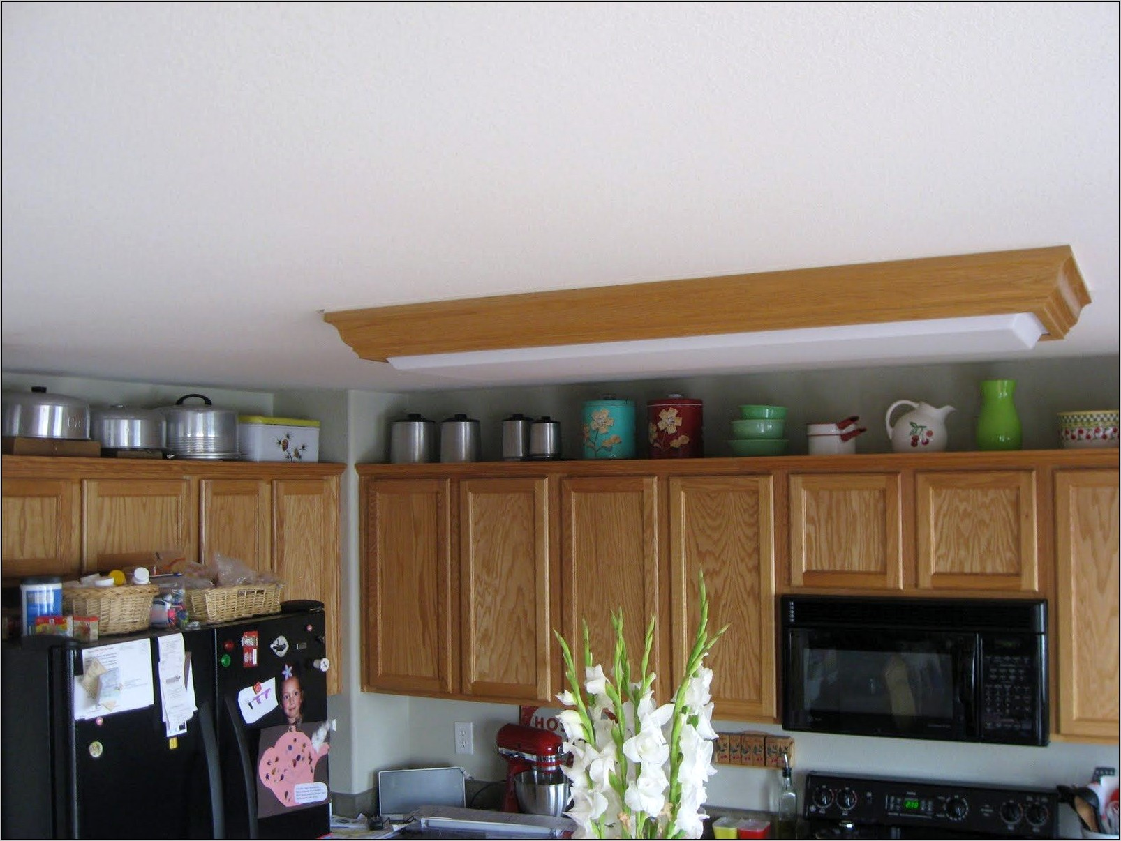 Decorate Top Of Kitchen Cabinets With Dip