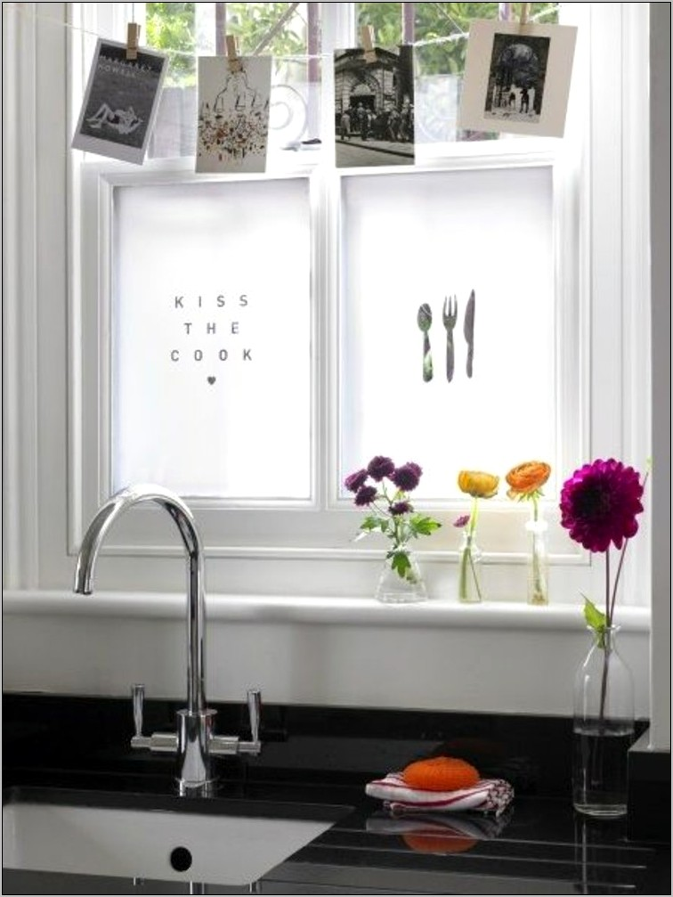 Decorate Window Sill Kitchen