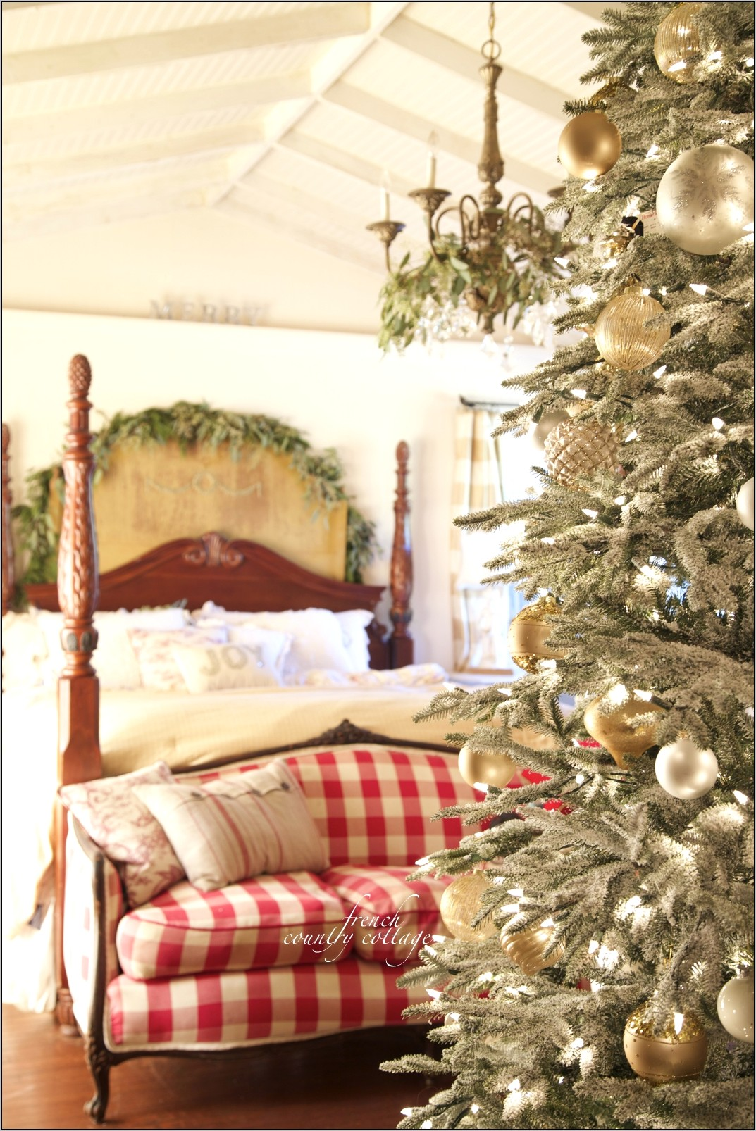 Decorating A Country Kitchen For Christmas