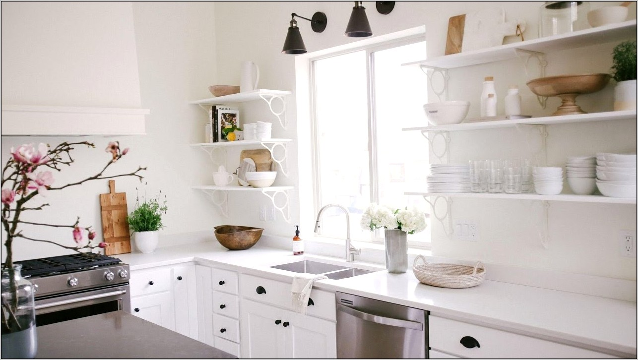 Decorating A Kitchen Counter Modern Minimalist