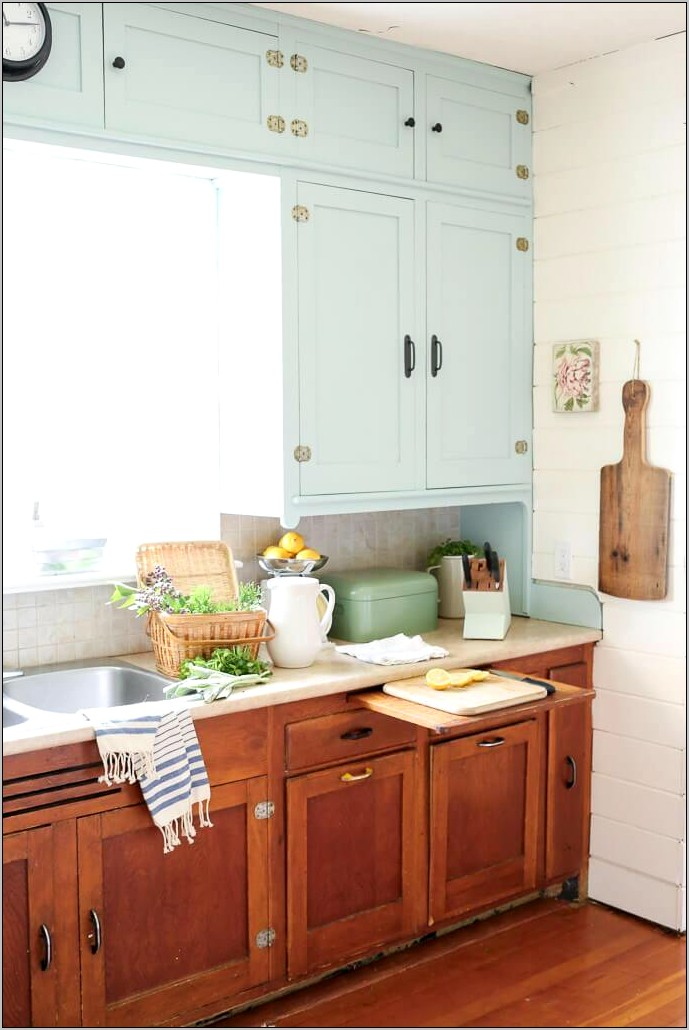 Decorating A Kitchen Vintage Style