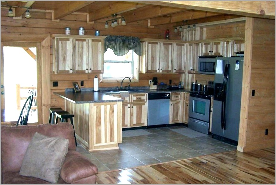 Decorating A Log Cabin Kitchen