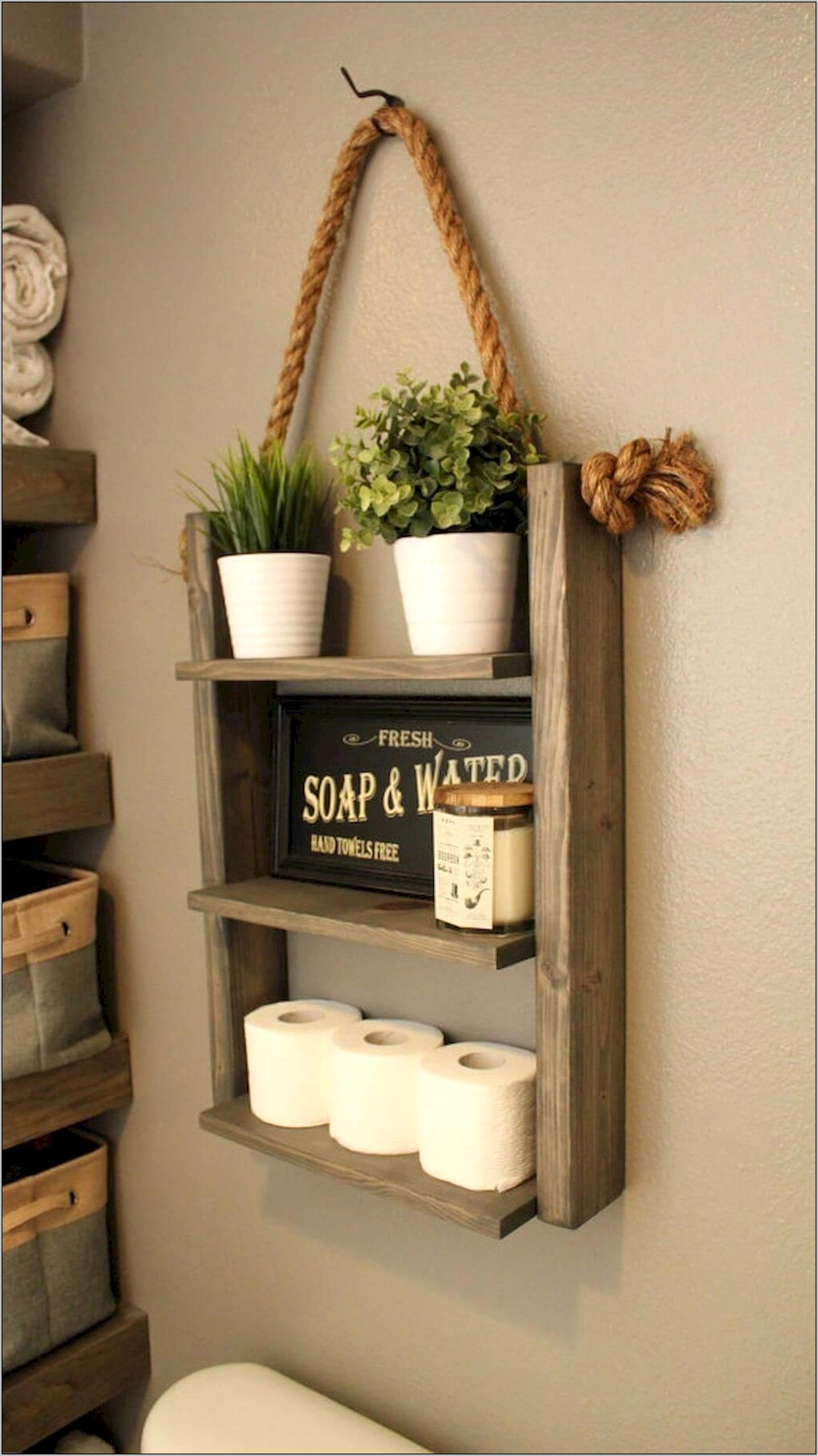 Decorating A Shelf In Kitchen