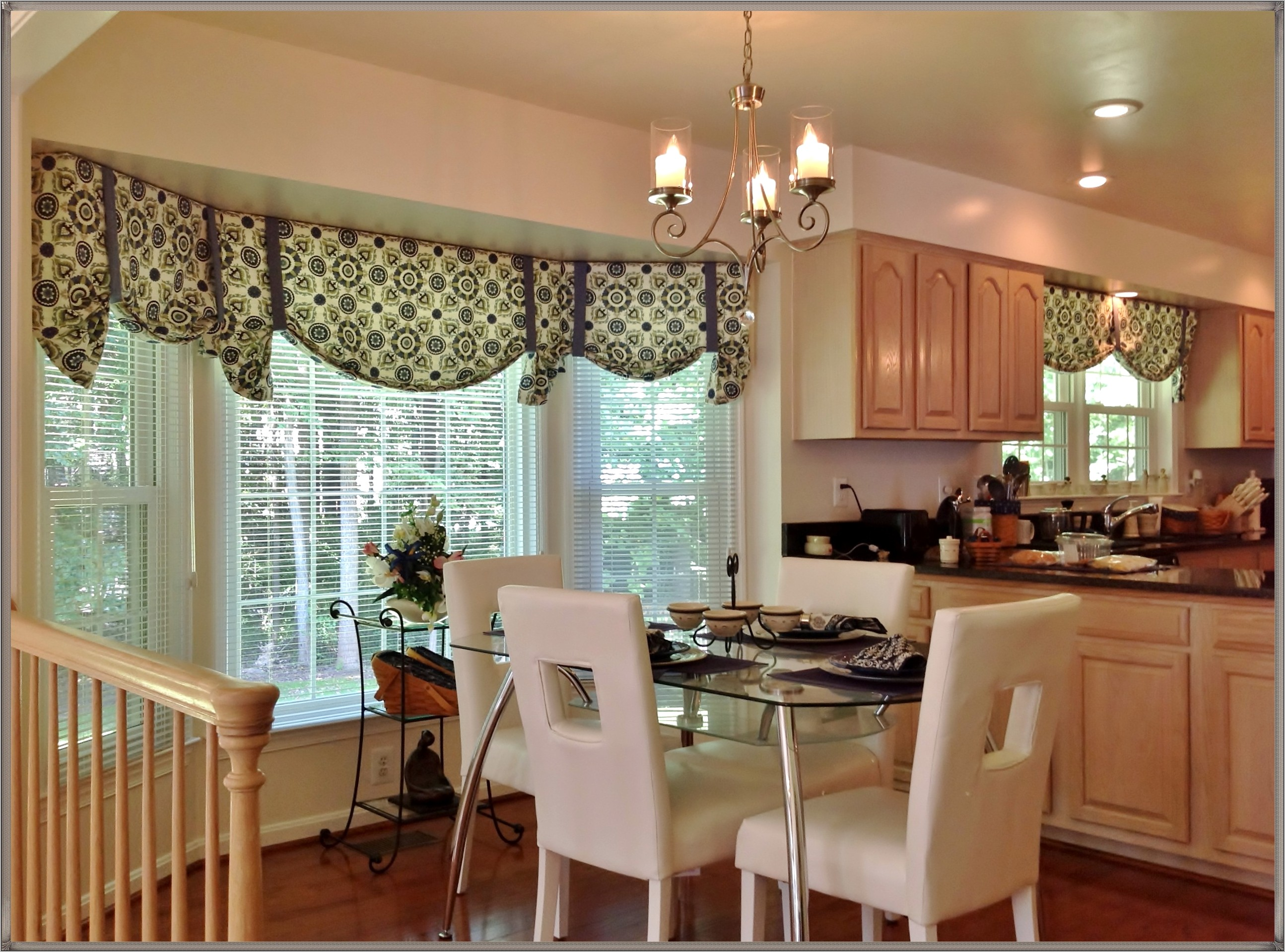 Decorating Bay Window In Kitchen