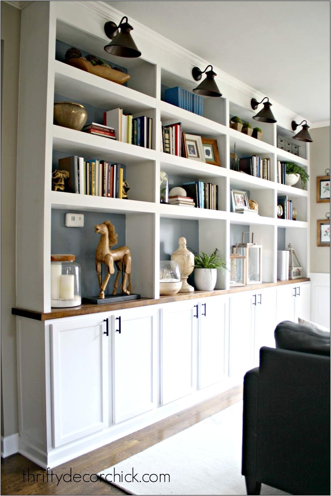 Decorating Black Shelfs In Kitchen Cabinets