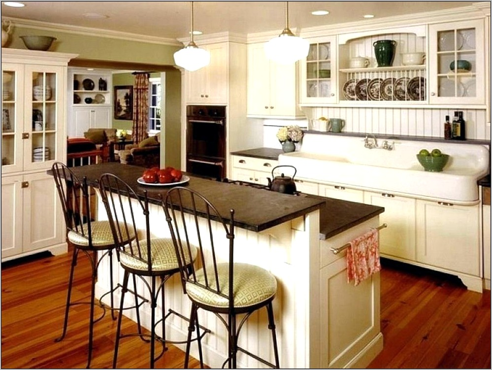 Decorating Ideas For A Large Kitchen Island