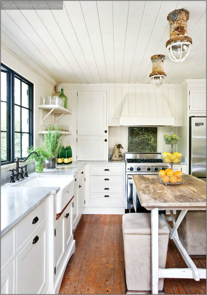 Decorating Ideas For A Small Country Kitchen