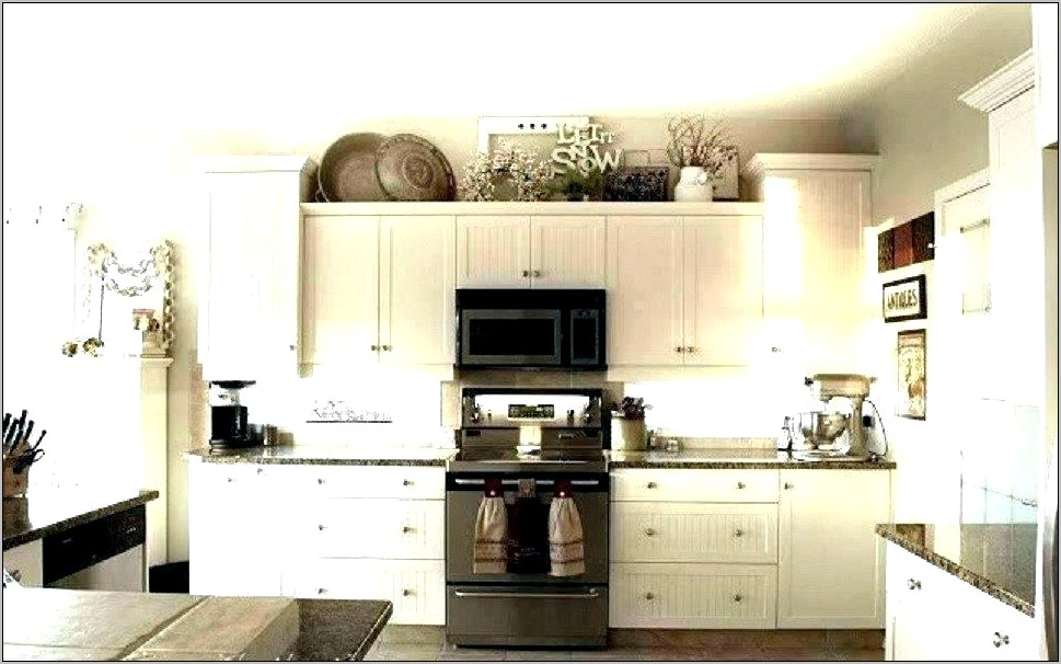 Decorating Ideas For Above Kitchen Counters