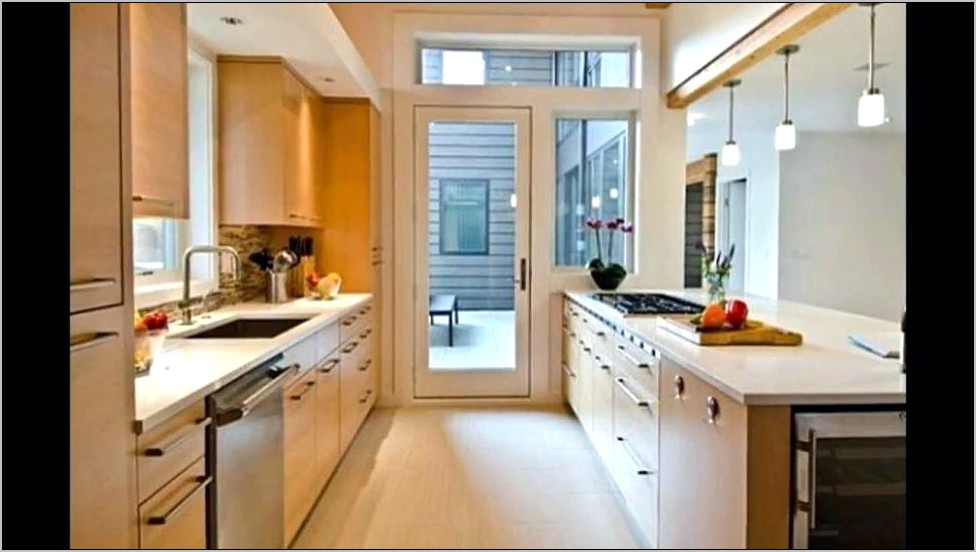 Decorating Ideas For Galley Style Kitchen