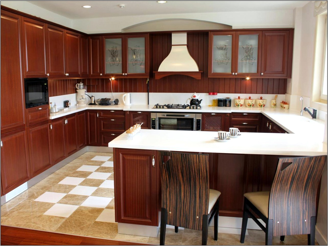 Decorating Ideas For L Shaped Kitchens
