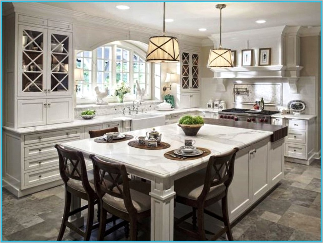 Decorating Ideas For Large Kitchen Islands