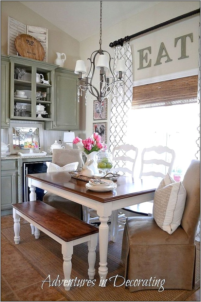 Decorating Ideas For Old Kitchen Chairs