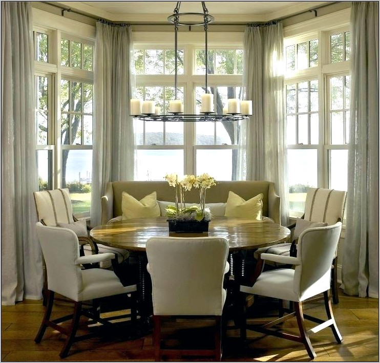 Decorating Ideas Kitchen Bay Window Treatment