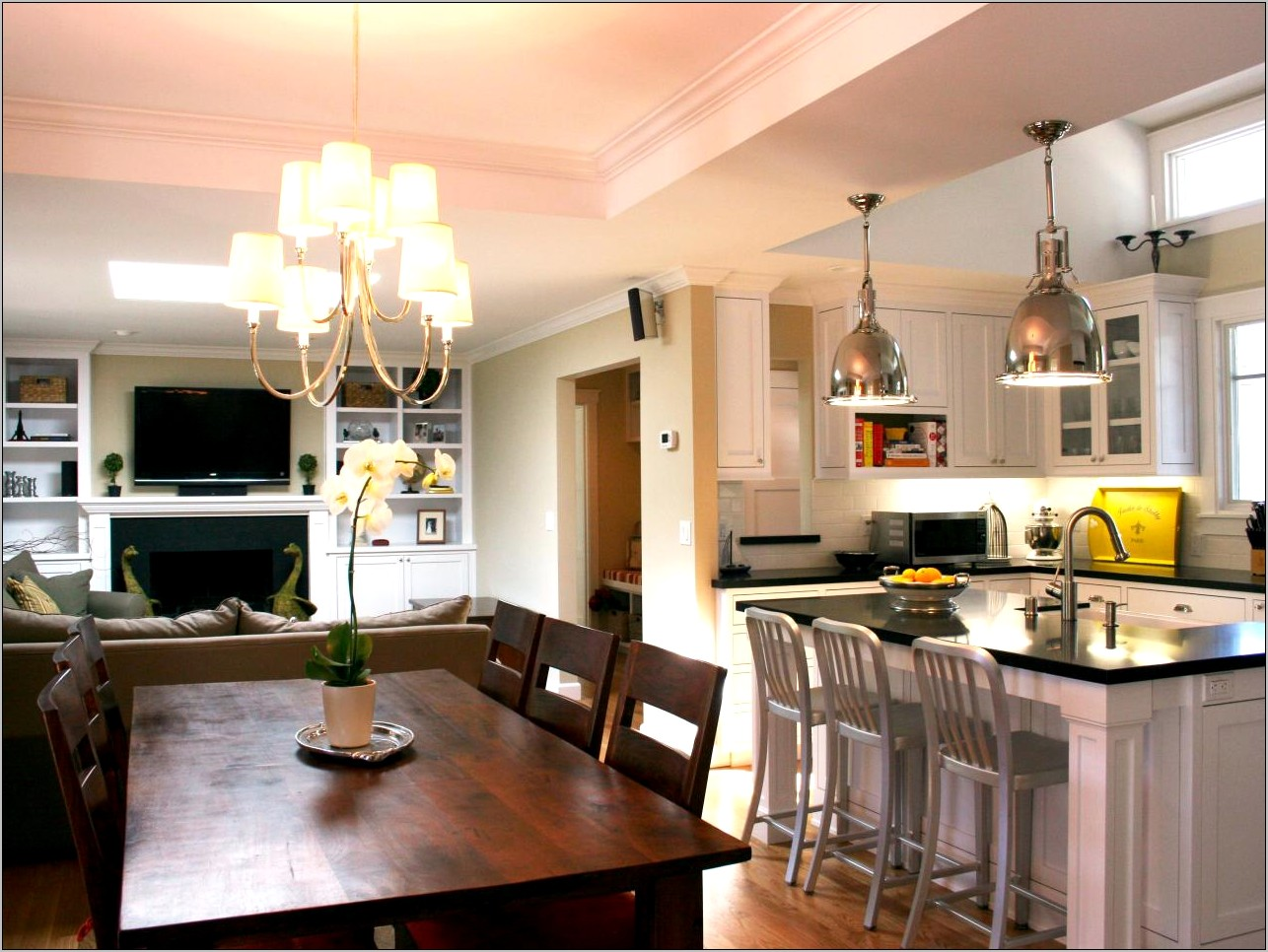 Decorating Ideas Kitchen Dining Room