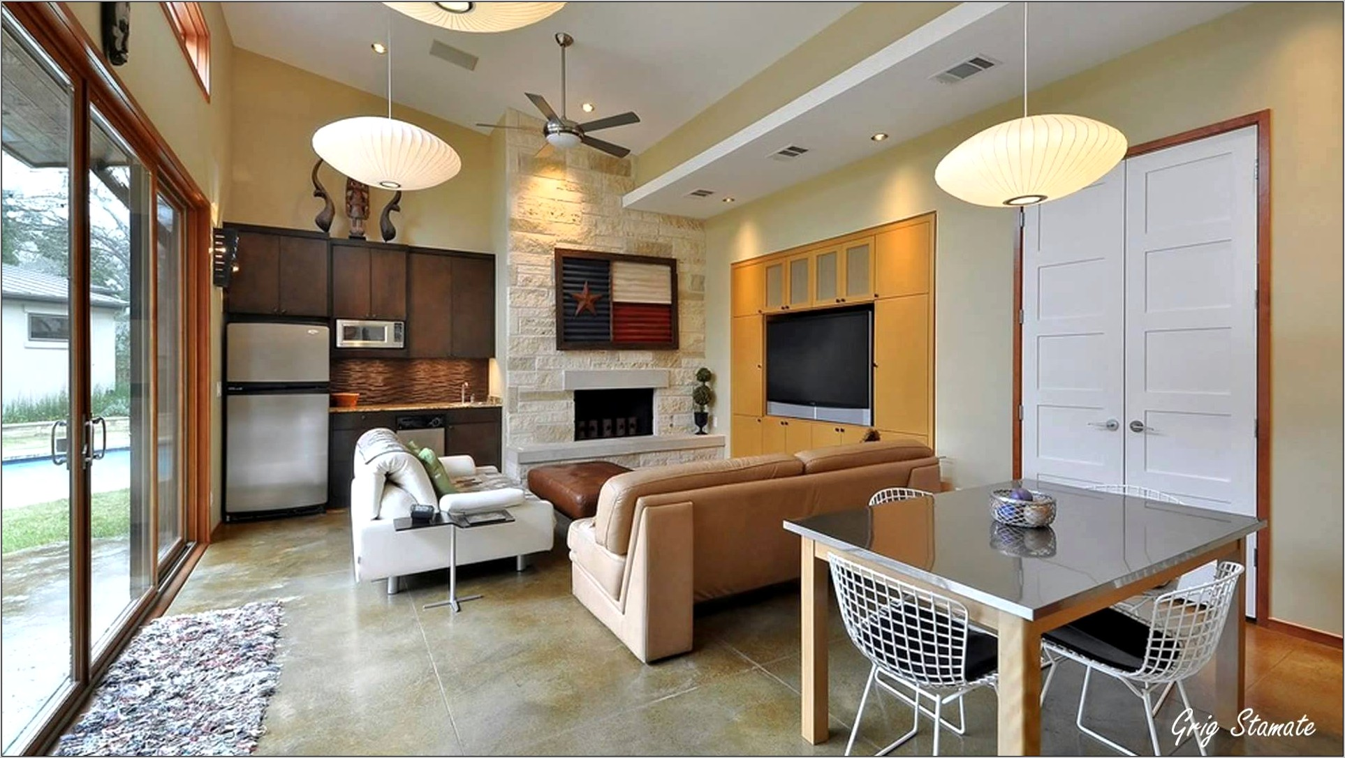 Decorating Kitchen Living Room Combination