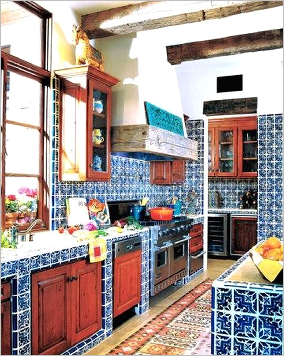 Decorating Kitchen Mexican Style