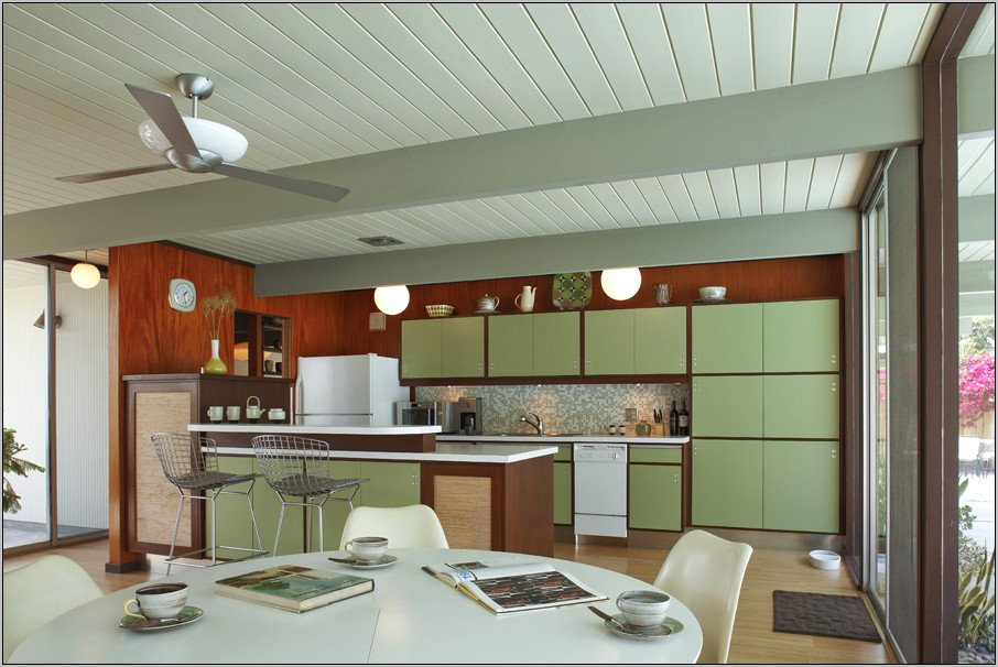 Decorating Kitchen Mid Century