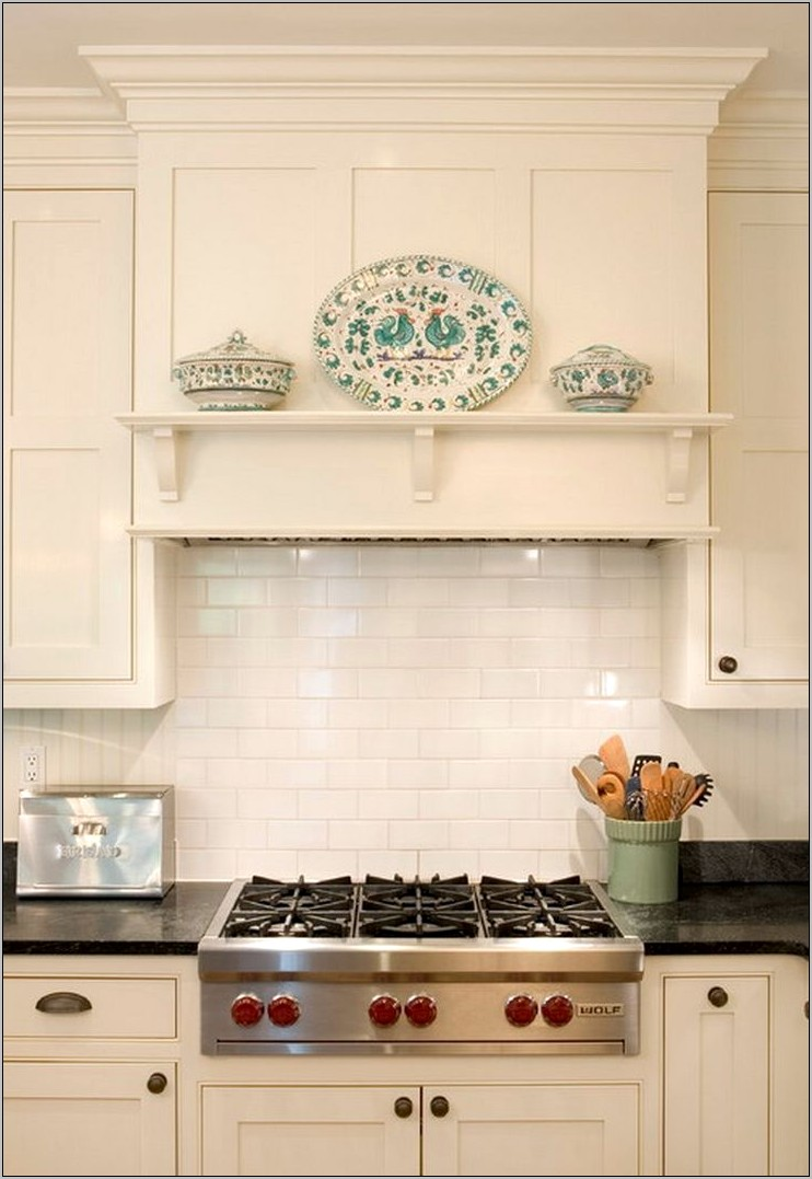Decorating Kitchen Stove Vent