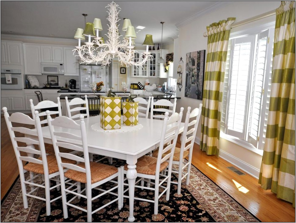 Decorating Kitchen Tables Ideas