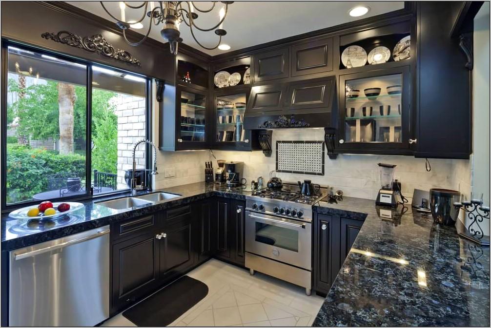 Decorating Kitchen With Dark Cabinets