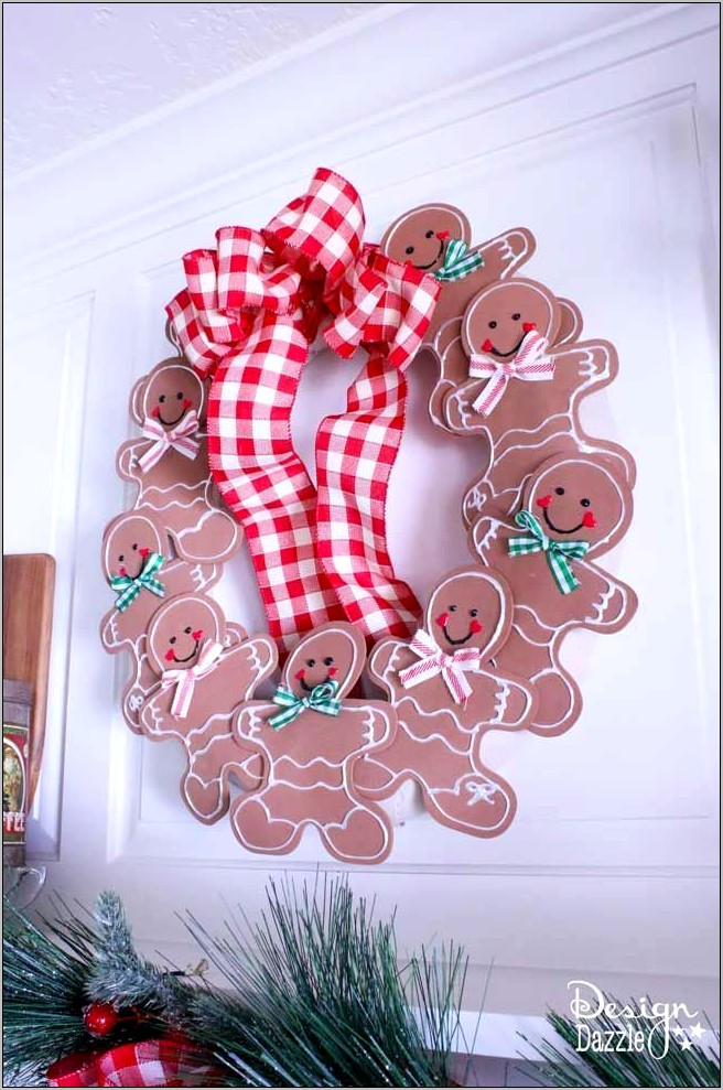 Decorating Kitchen With Gingerbread Man