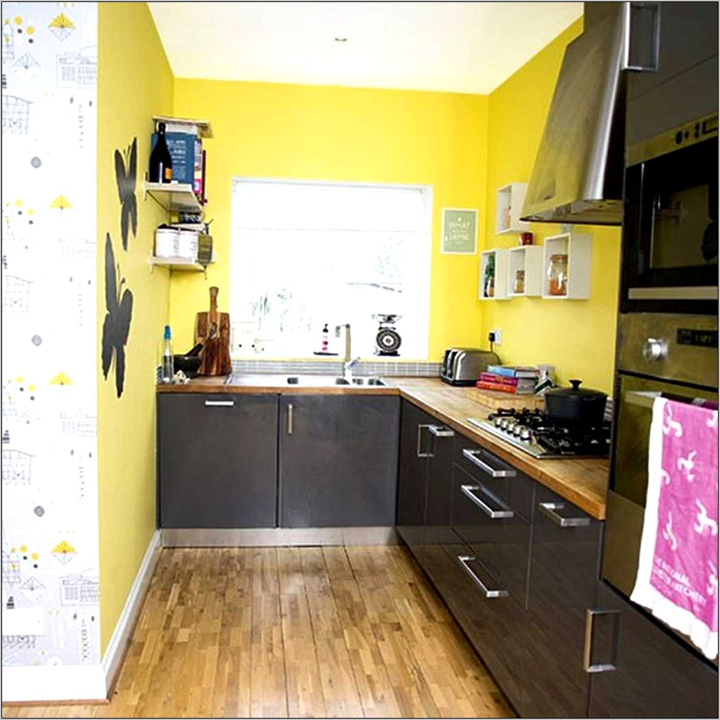 Decorating Kitchen With Yellow Walls